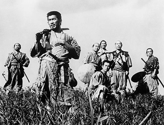 หนังเรื่อง 'Seven Samurai' (1954)